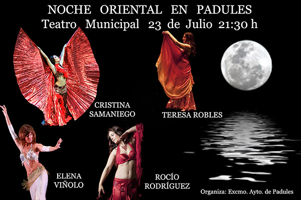 Noche oriental en padules